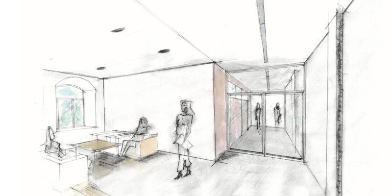 Umbau und Sanierung Büro- in ein Schulungsgebäude in Dresden