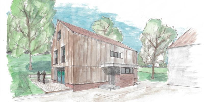 Umbau und Sanierung eines Wohnhauses in Zweiseitenhof